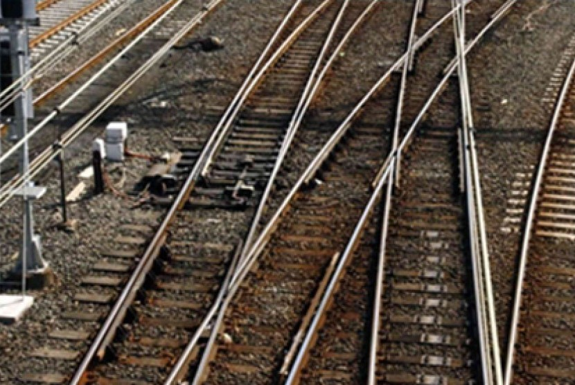 Jalur Kereta. Ilustrasi
