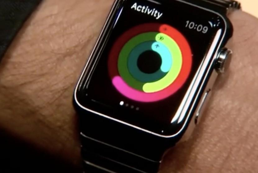 Jam tangan pintar (ilutrasi)