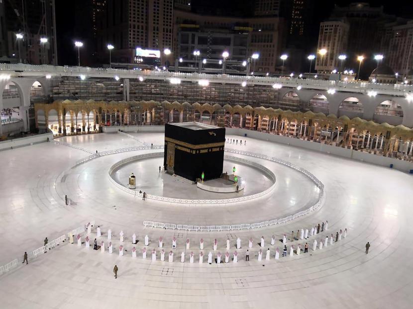 Kerajaan Arab Saudi kemungkinan akan membuka penyelenggaraan haji pada 2021. Foto Kabah (ilustrasi)