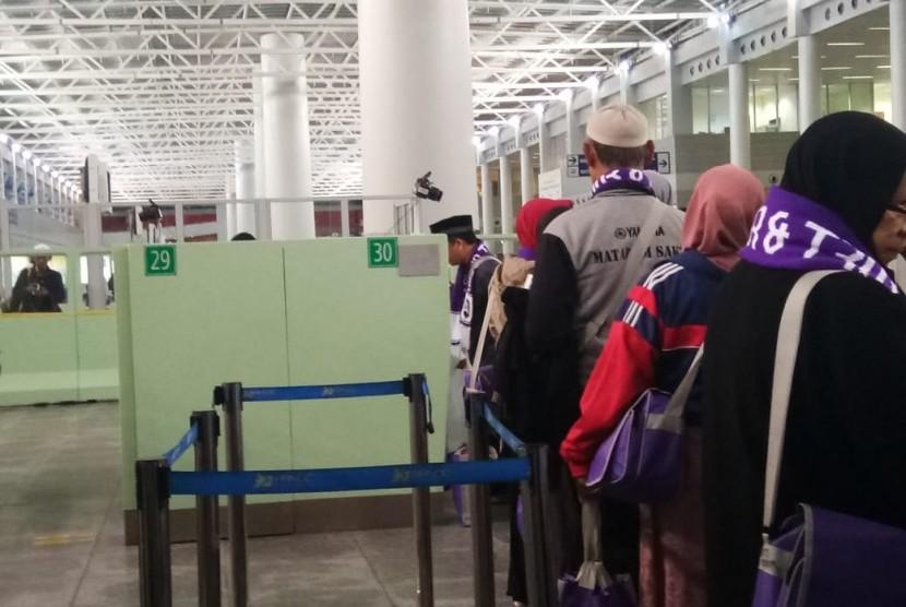 Jamaah umrah yang tiba di Jeddah harus menjalani rekam biometrik lagi.