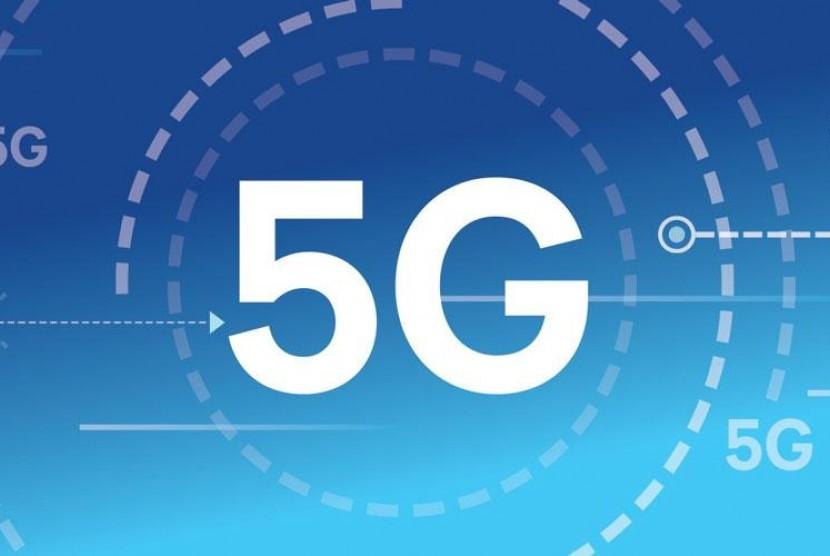 jaringan 5G. ilustrasi