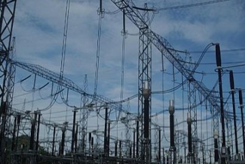 Jaringan listrik PLN, ilustrasi