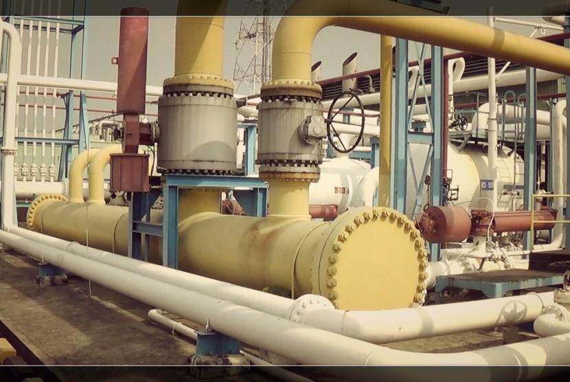 Jaringan Pipa Gas, Pertagas (ilustrasi)