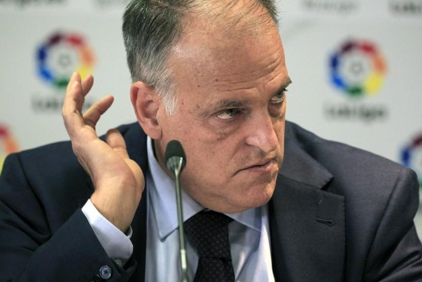 Presiden La Liga Spanyol, Javier Tebas.