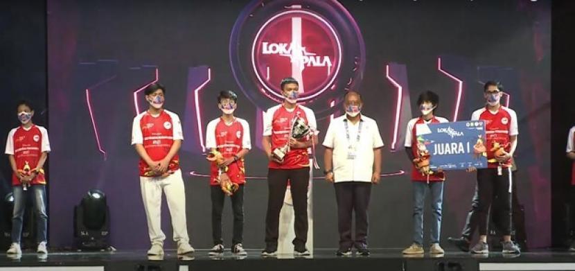 Jeet Esports menjadi juara kategori gim eSports Lokapala pada PON XX Papua 2021