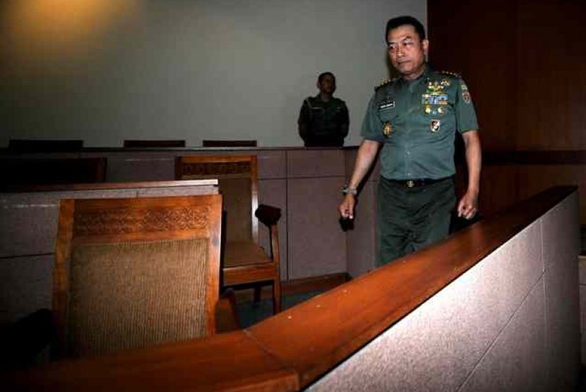 Indonesian military chief, General Moeldoko (file photo)