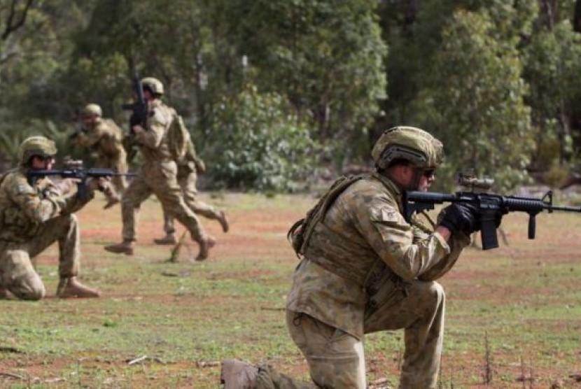 Militer Australia.
