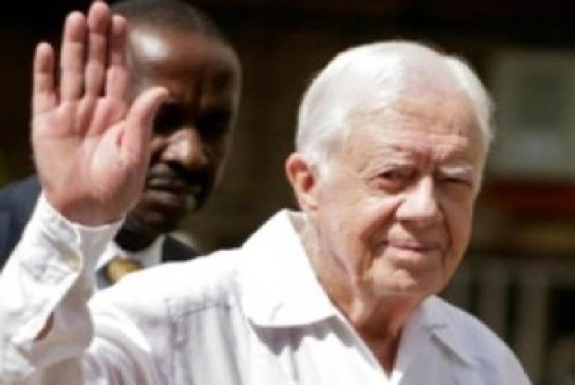 Mantan Presiden AS Jimmy Carter akan memiliki komik perjalanan hidupnya menuju Gedung Putih.