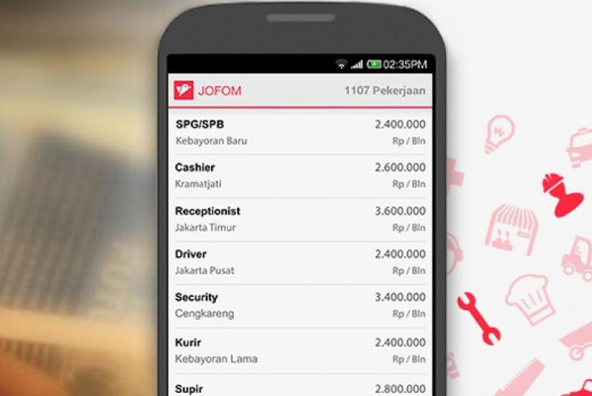 Jofom Aplikasi Lowongan Kerja Untuk Lulusan Sma Smk Republika Online