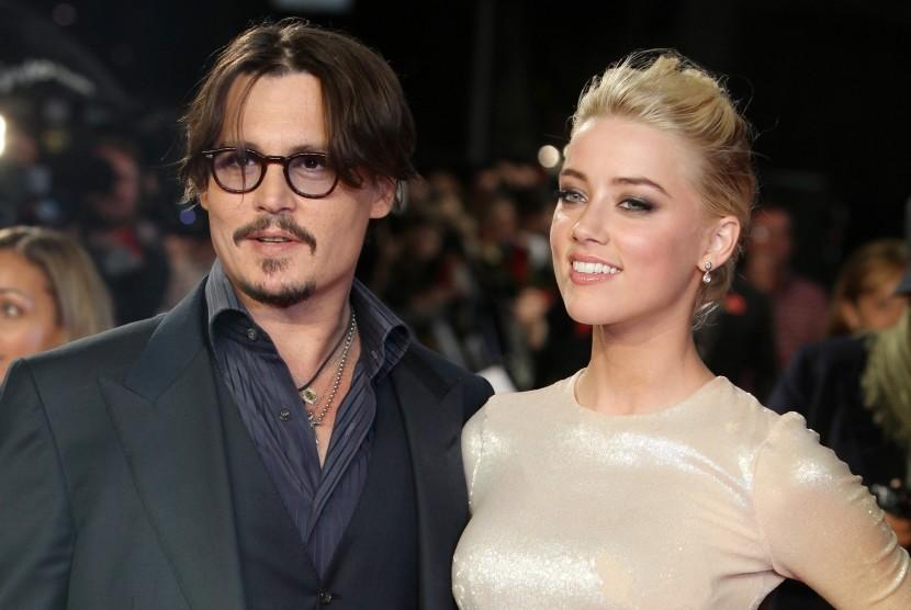 Johnny Depp dan Amber Heard