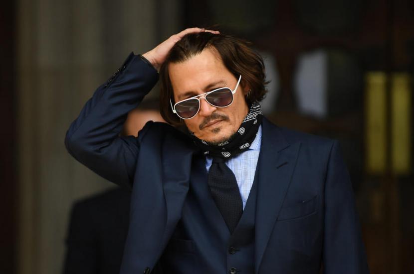 Aktor Johnny Depp. Orang tua Depp bercerai ketika ia berusia 15 tahun.