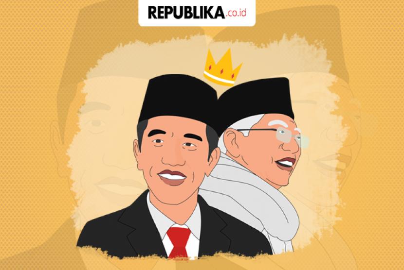 Jokowi-Ma'ruf masih 'rajai' survei