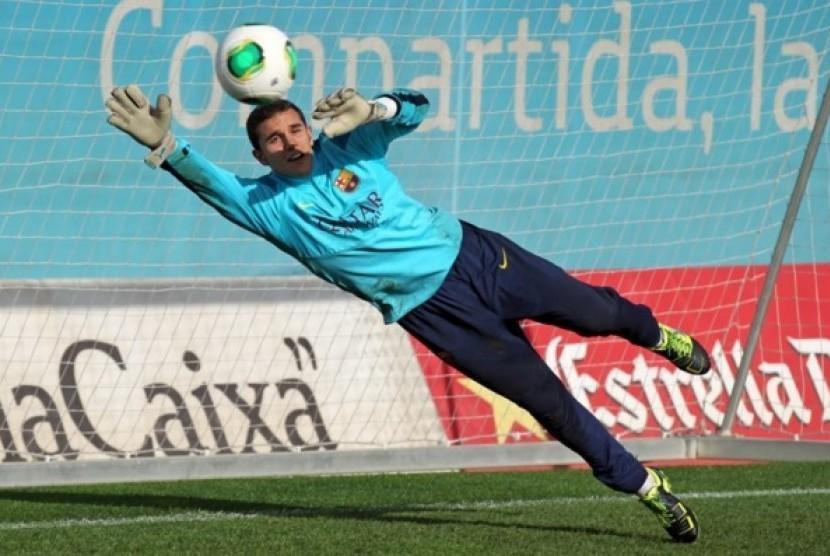 Jordi Masip termasuk salah satu pemain Spanyol yang dicegah agar tak sampai bergabung dengan Timnas Katalan.