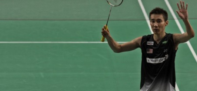 Juara Indonesia Open 2011 Super Series Lee Chong Wei asal Malaysia
