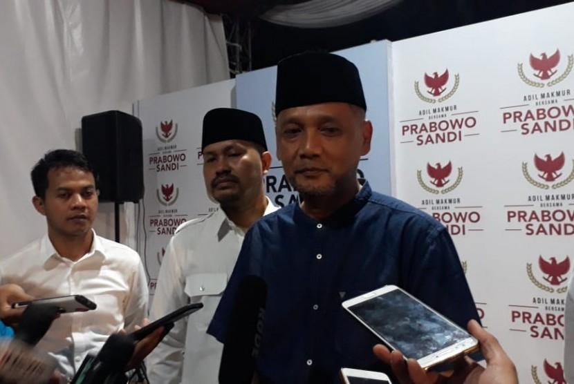 Jubir Koalisi Indonesia Adil Makmur Irfan Yusuf Hasyim