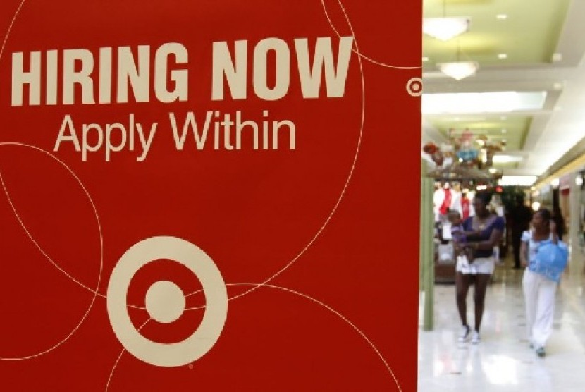 Jumlah pengangguran di AS tetap tinggi meski lowongan kerja mulai banyak
