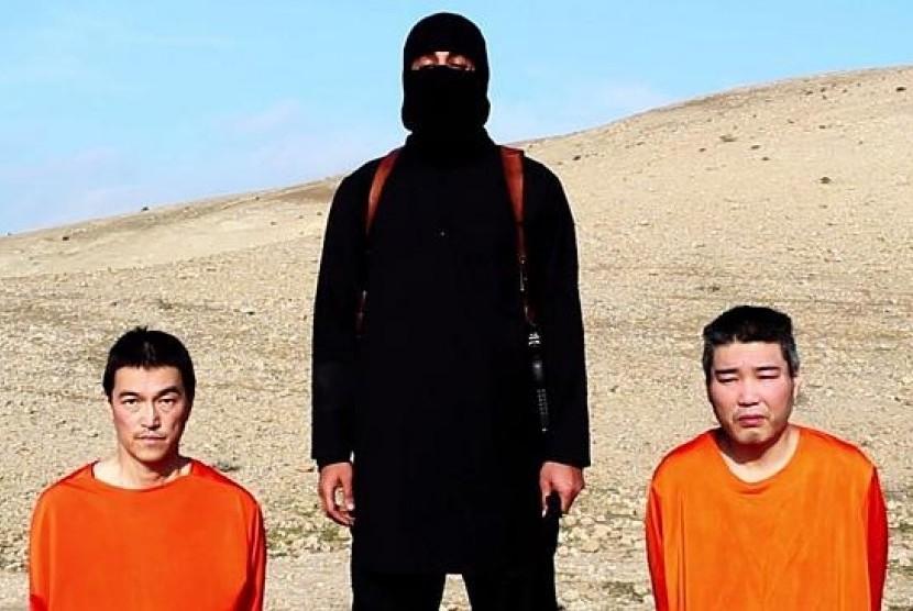 Jurnalis Kenji Goto dan kontraktor Haruna Yukawa disandera kelompok ISIS.