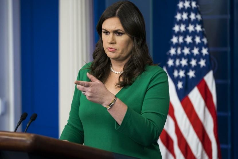 Juru Bicara Gedung Putih, Sarah Sanders.