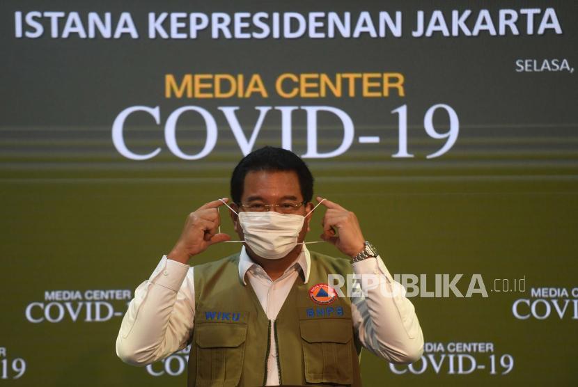 Juru Bicara Pemerintah untuk  Penanganan Covid-19 Wiku Adisasmito.