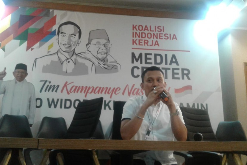 National Campaign Team (TKN) or success team of incumbent President Joko Widodo (Jokowi) - KH Ma'ruf Amin pair spokesman Abdul Kadir Karding