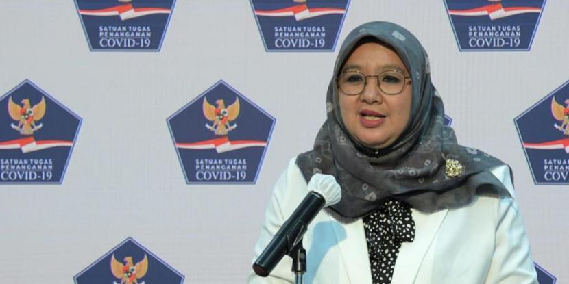 Juru Bicara Vaksinasi Covid-19 Kementerian Kesehatan (Kemenkes), dr Siti Nadia Tarmizi.