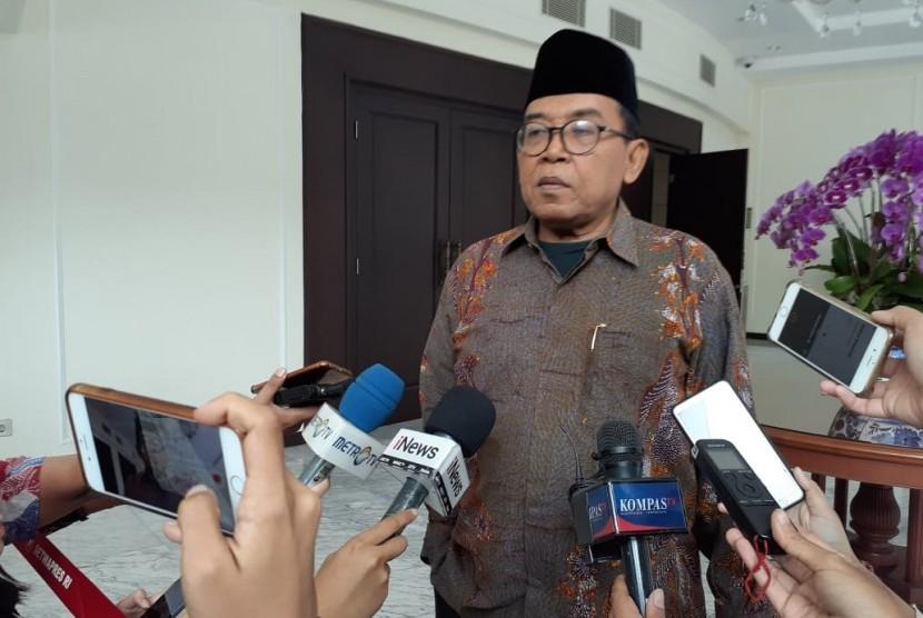 Juru Bicara Wakil Presiden Maruf Amin, Masduki Baidlowi, menyatakan pentingnya agama dalam pendidikan