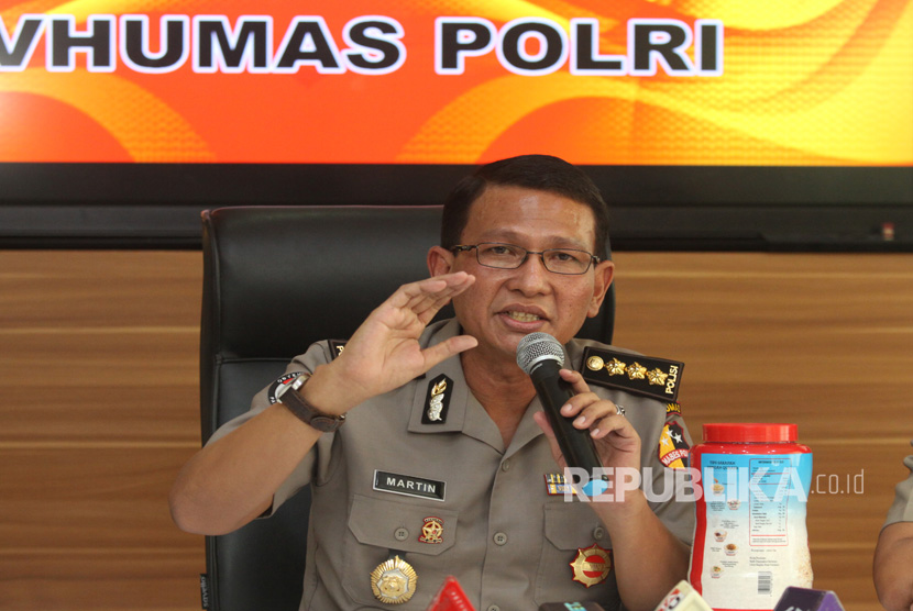Head of Public Relations Division National Police Martinus Sitompul