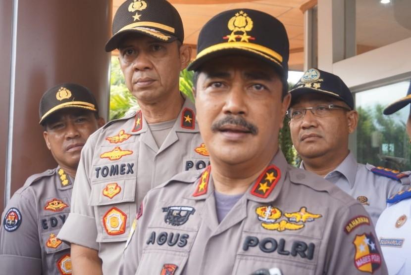 Kabaharkam Polri Komjen Agus Andrianto pada Rabu (23/2), dilantik menjadi kepala Bareskrim Polri.
