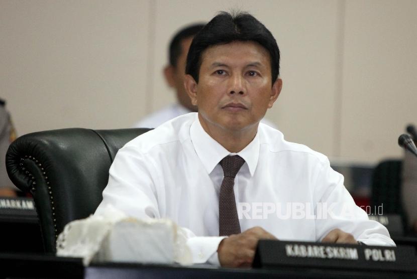 Kabareskrim Polri Komjen Pol Ari Dono Sukmanto.