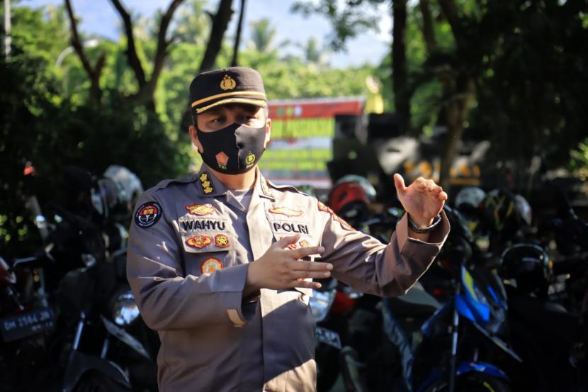 Kabid Humas Polda Gorontalo, Kombes Wahyu Tri Wahyono.
