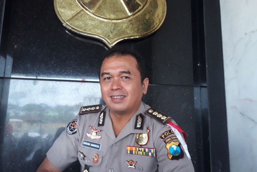 Spokesperson of East Java Police Frans Barung Mangera.