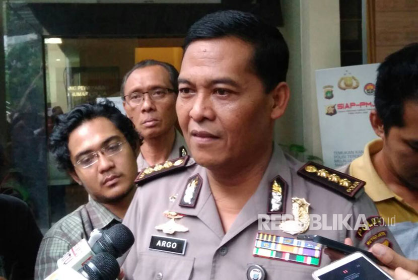 Spokesperson of Jakarta Metro Police Argo Yuwono