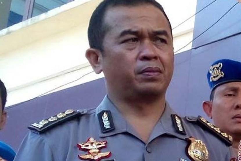 Kabid Humas Polda Sulselbar Kombes Frans Barung Mangera.