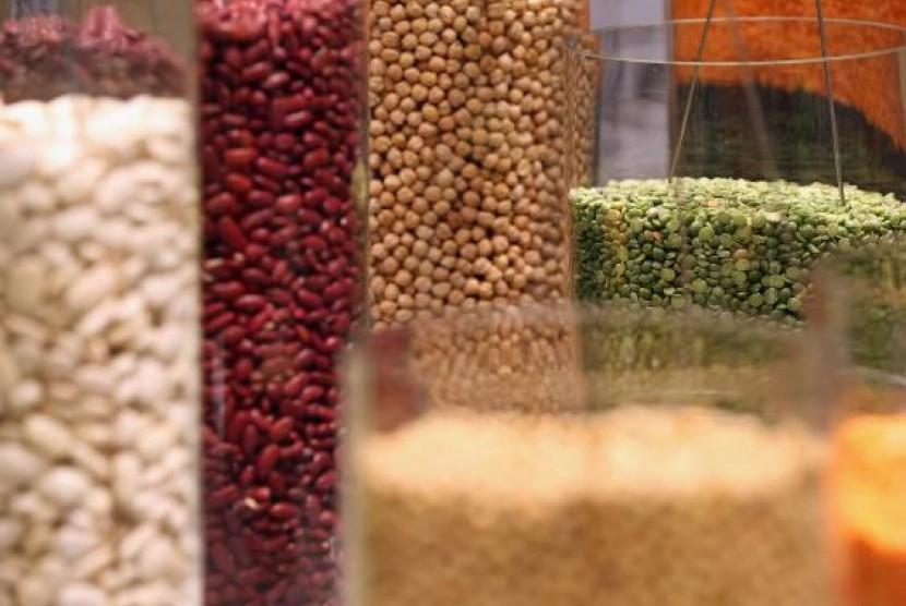 Kacang-kacangan (ilustrasi)