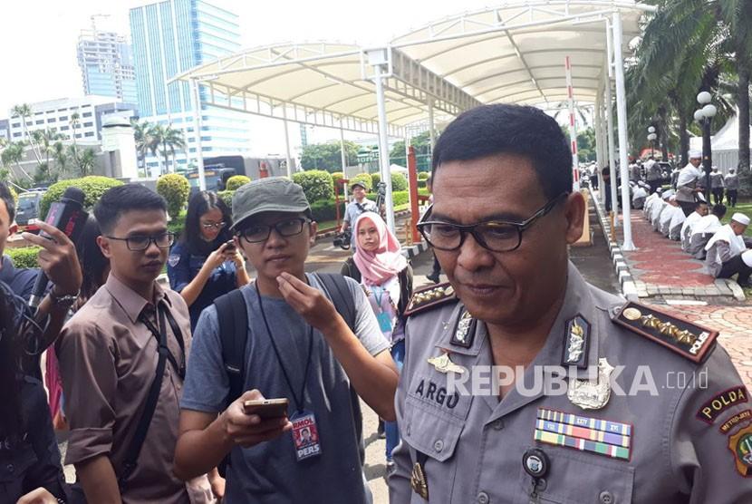 Kadiv Humas Polda Metro Jaya Kombes Pol Raden Prabowo Argo Yuwono