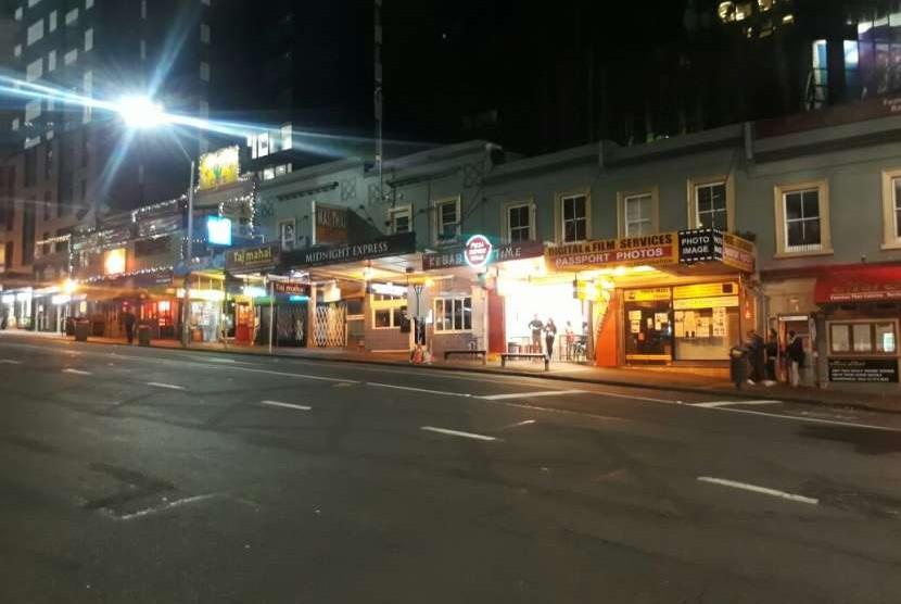 Kafe-kafe dengan menu masakan Turki menyediakan opsi masakan halal bagi wisatawan Muslim yang berkunjung ke Selandia Baru.