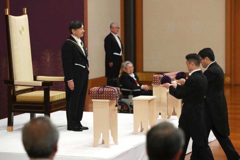 Kaisar Naruhito Bersumpah Jaga Perdamaian Dunia | Republika