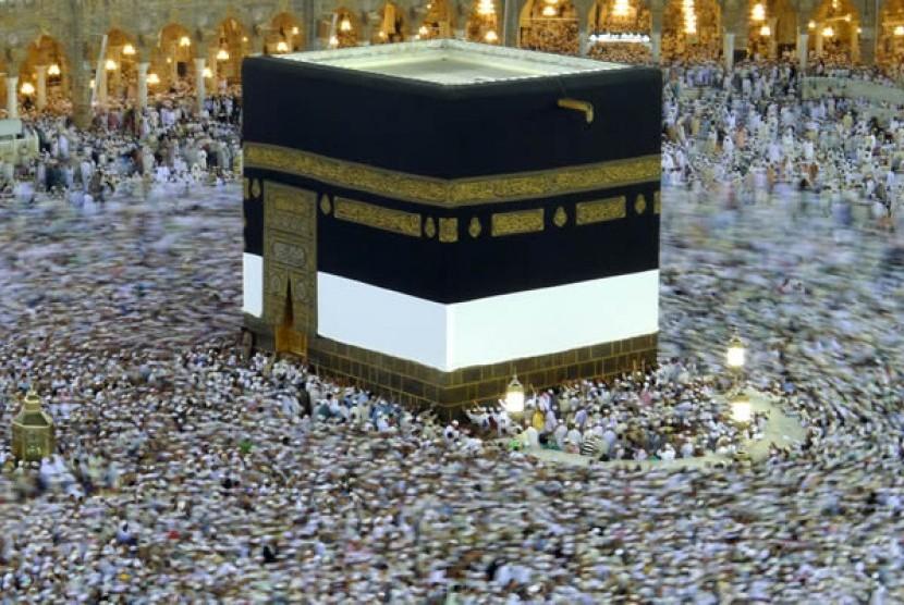 Kakbah, kiblat sholat umat Islam dari seluruh dunia