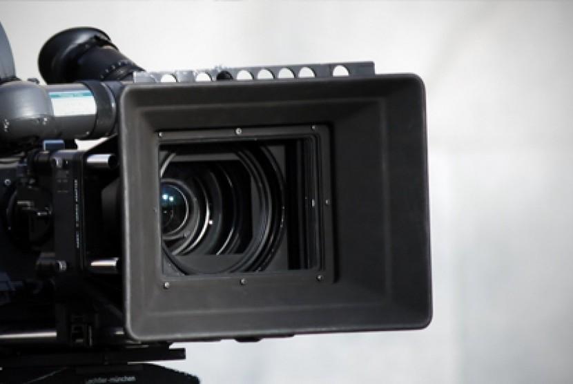 Kamera video. Ilustrasi