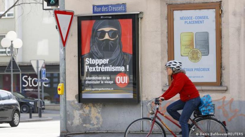 Kampanye larang Burqa di Swiss