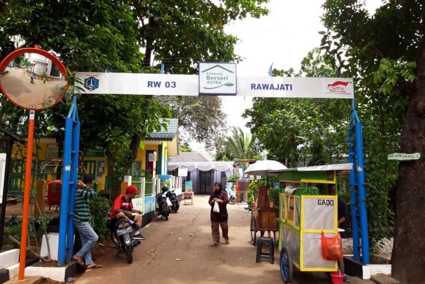 Kampung Berseri Astra (KBA) RW 03 Kelurahan Rawajati, Kecamatan Pancoran Jakarta Selatan.