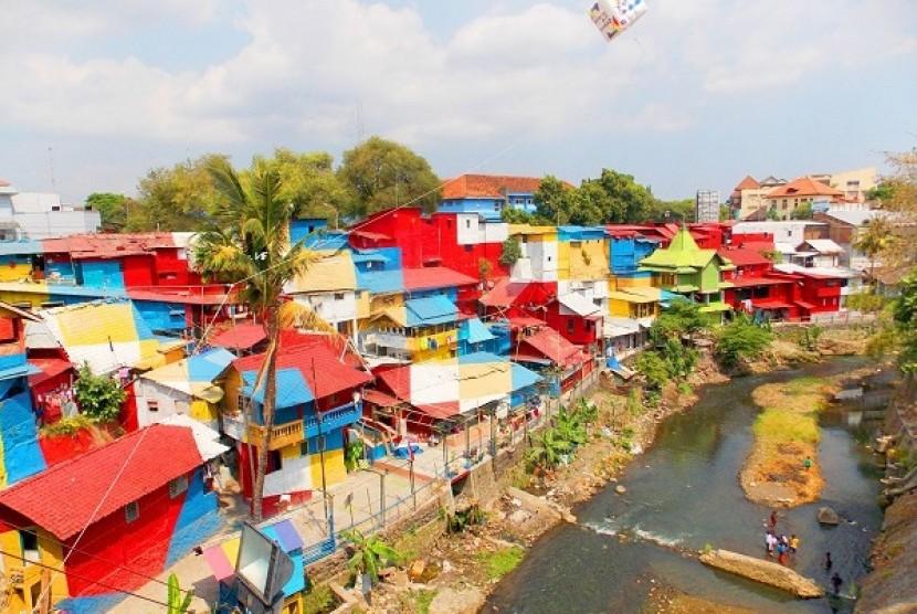 Kampung Putih Ditargetkan Jadi Ikon Wisata Baru Kota Malang Republika Online