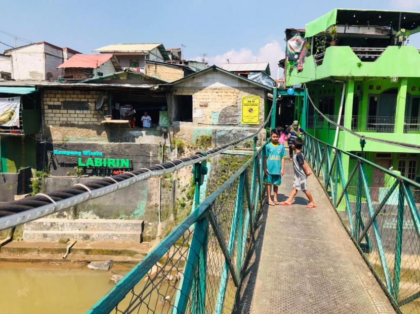 Kampung Labirin di Kota Bogor, Jawa Barat