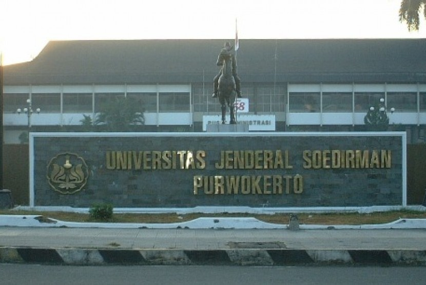 Kampus Universitas Jenderal Soedirman (Unsoed) Purwokerto.