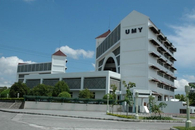 Kampus Universitas Muhammadiyah Yogyakarta (UMY) di Yogyakarta.