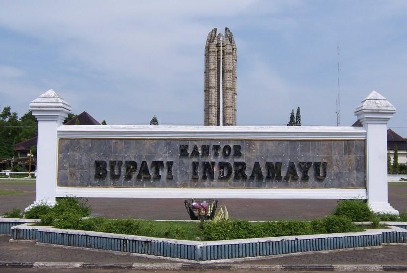 Kantor Bupati Indramayu, Jawa Barat.