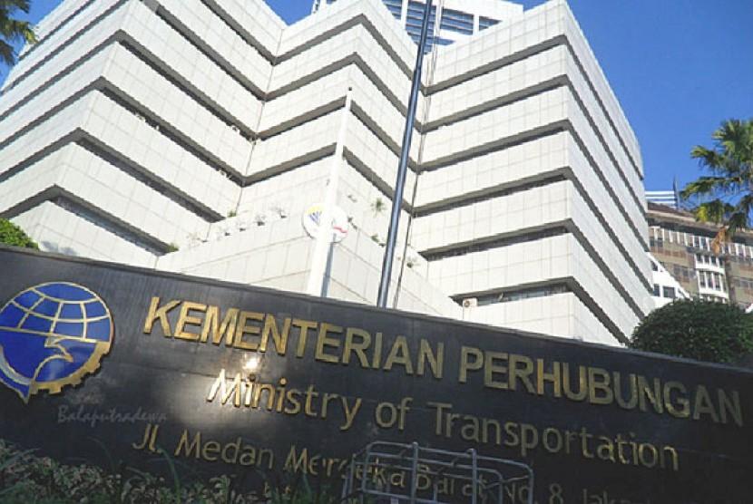 Kantor Kementerian Perhubungan (Kemenhub).