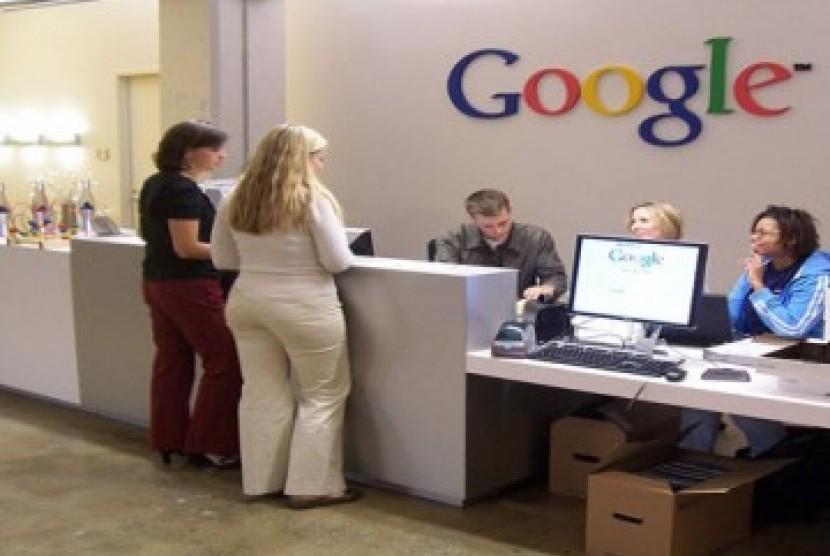 Kantor pusat Google. Ilustrasi