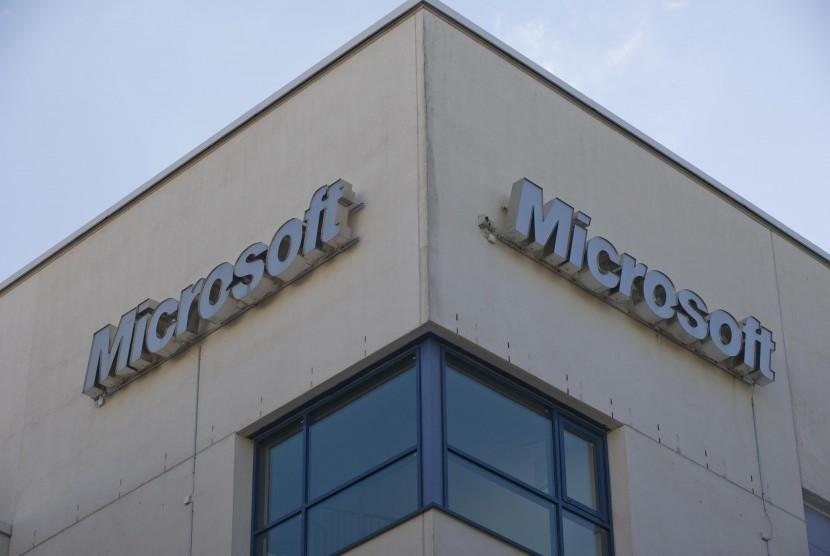 Kantor pusat Microsoft di Finlandia.