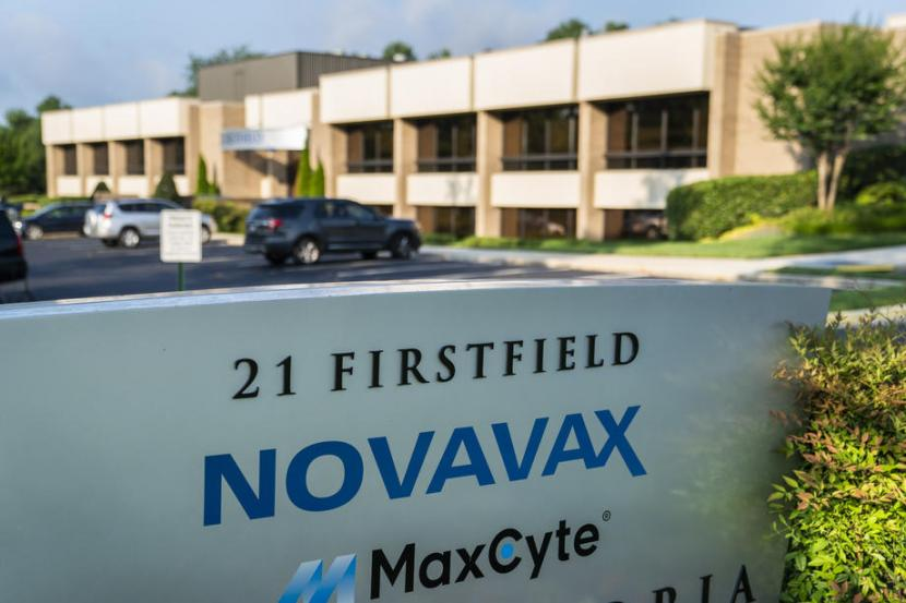 Kantor pusat Novavax di Maryland, Amerika Serikat.
